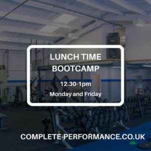 lunchtime bootcamp basingstoke